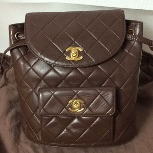 Preowned Chanel Backpack